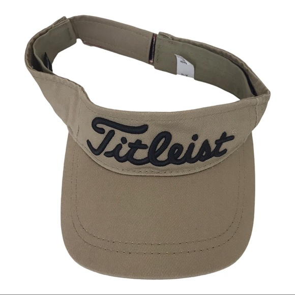 Titleist Spell Out Embroidered Visor Golf Hat